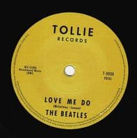 THE BEATLES Love Me Do Vinyl Record 7 Inch Tollie 2019